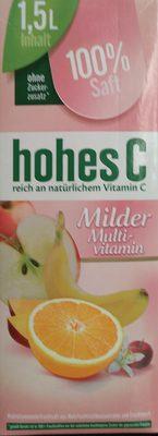 Milder Multi-vitamin - Product - en