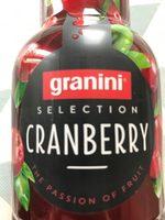 Cranberry selection - Produit