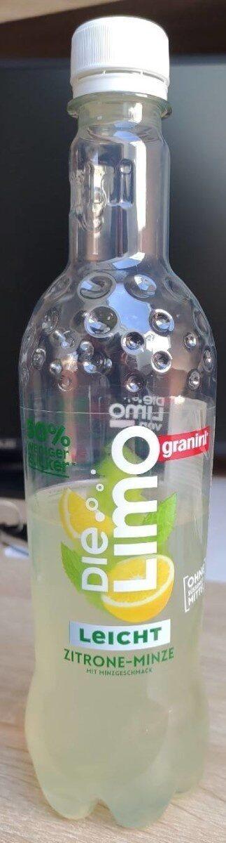 Die Limo Leicht Zitrone-Minze - Produkt - de