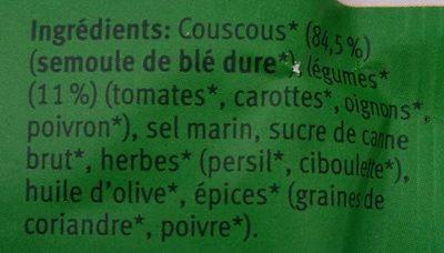 Couscous pour salade - Ingrédients - fr