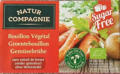 Caldo de verduras ecológico sin extracto de levadura, - Product