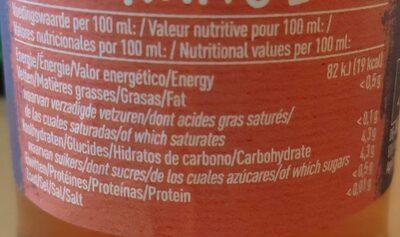 Bionade Gingembre-Orange - Nutrition facts - fr