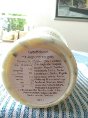 Pfennigs Kartoffelsalat (mit Joghurterzeugnis) - Zutaten - de