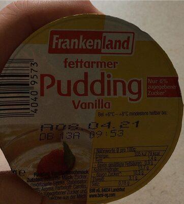Vanillepudding - Produit - de