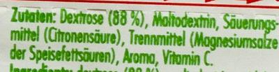 Dextro Energy Vitamin C Zitrone - Ingredienti - de