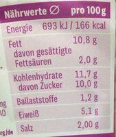 Roter Heringssalat - Nährwertangaben - de