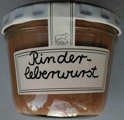 Rinderleberwurst - Produkt