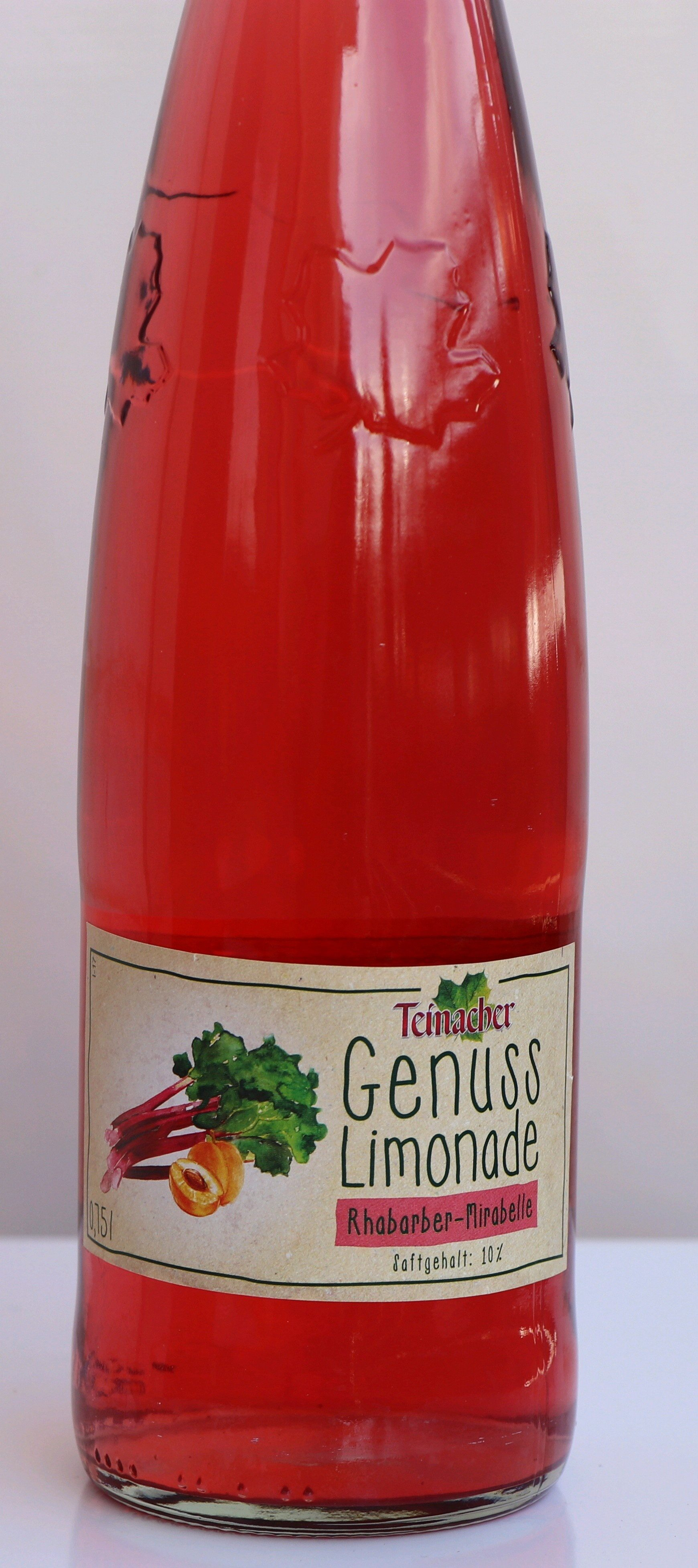 Teinacher - Genusslimonade - Produit