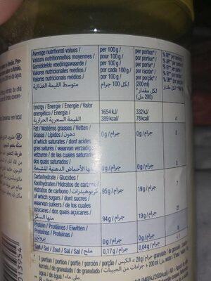 Lemon tea drink - Voedingswaarden - fr