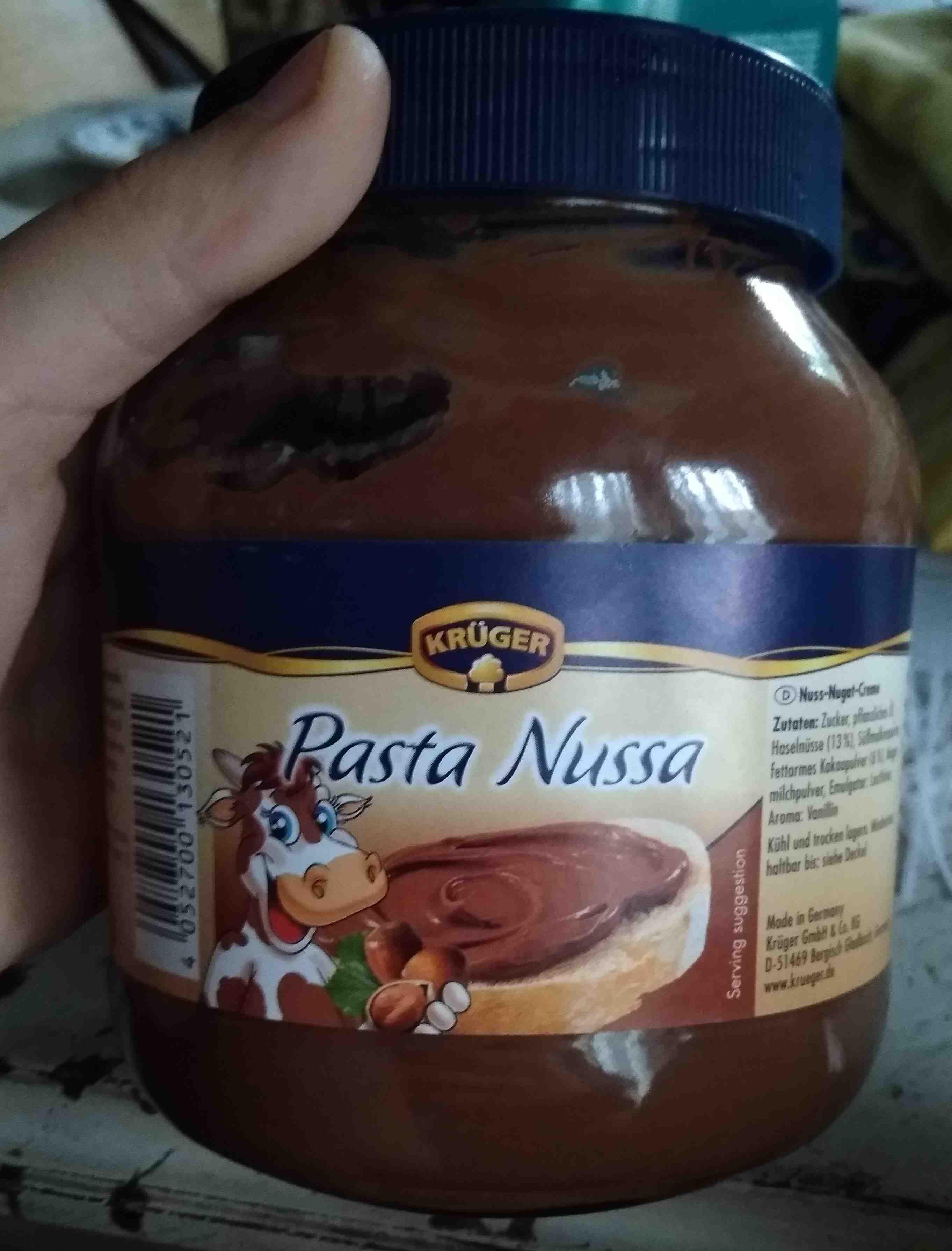 Pasta nussa - Product