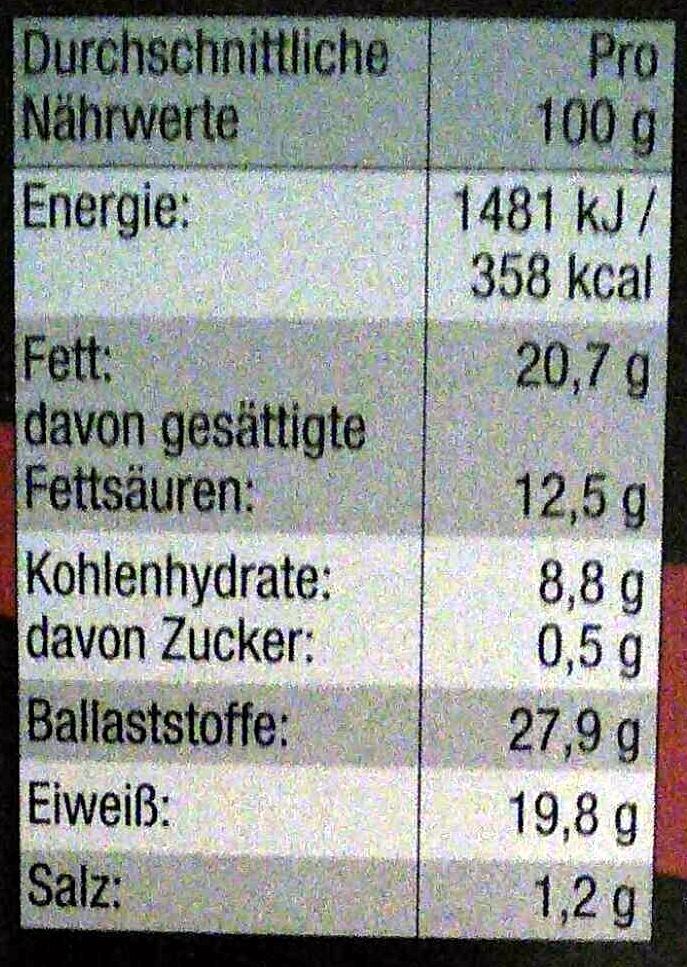 nederland kakao - Informations nutritionnelles - de
