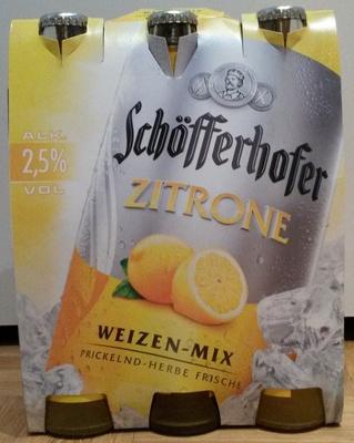 Schöfferhofer Zitrone - Produit