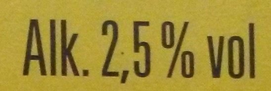 Schöfferhofer Zitrone - Informations nutritionnelles