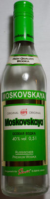 Moskovskaya Russischer Premium Wodka - Product - de