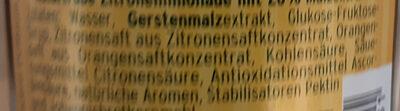 Braumeisters Limonade Zitrone naturtrüb - Ingredienti - de