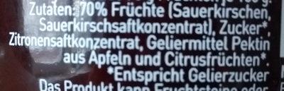 Glück aus Kirschen - Ingredients - de