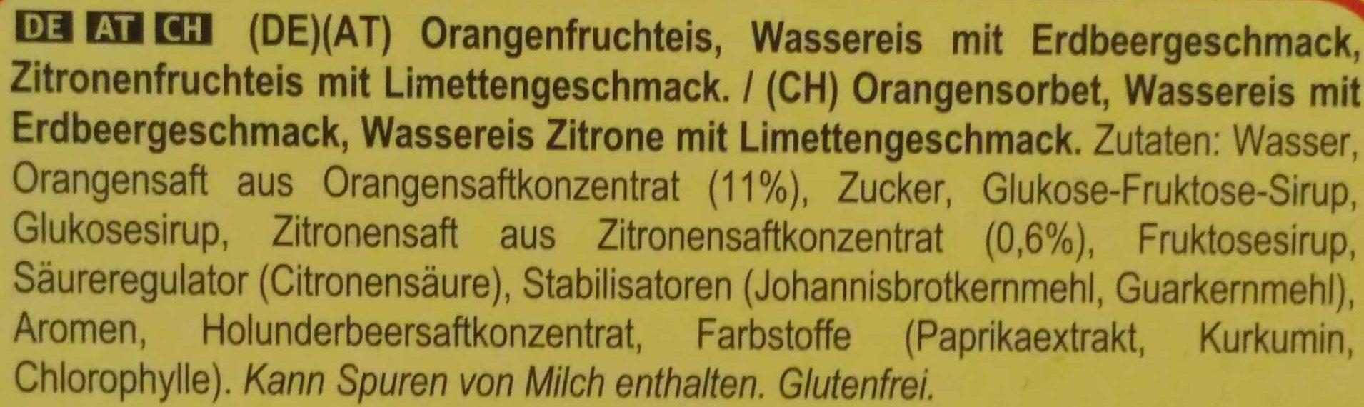 Flutschfinger - Ingrediënten - de