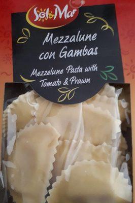 Mezzalune con Gambas - 1