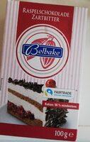 Raspelschokolade Zartbitter - Produkt - de