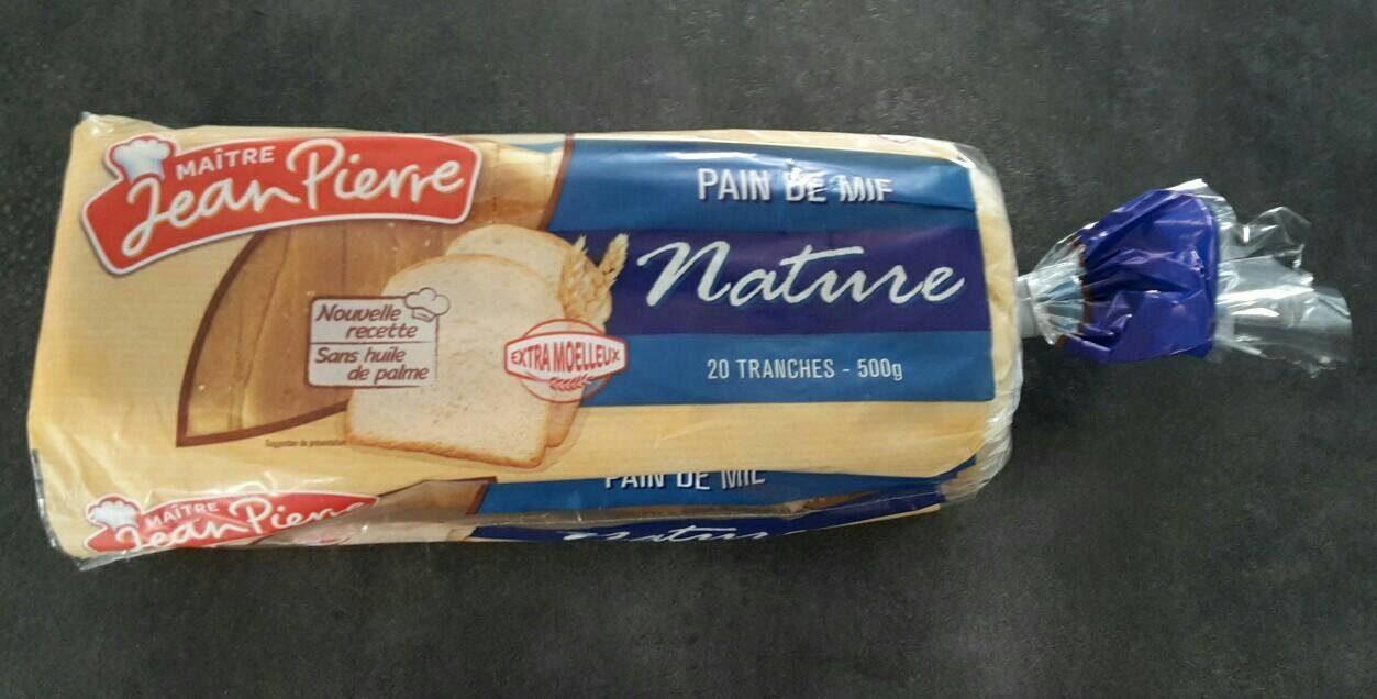 Pain De Mie Nature - Product - fr