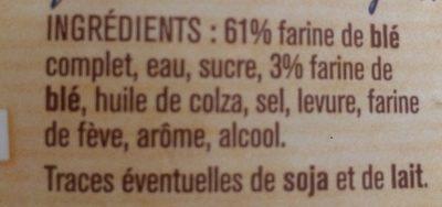 Spécial sandwich complet - Ingredients
