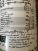 Trink Schockolade - Informations nutritionnelles - de