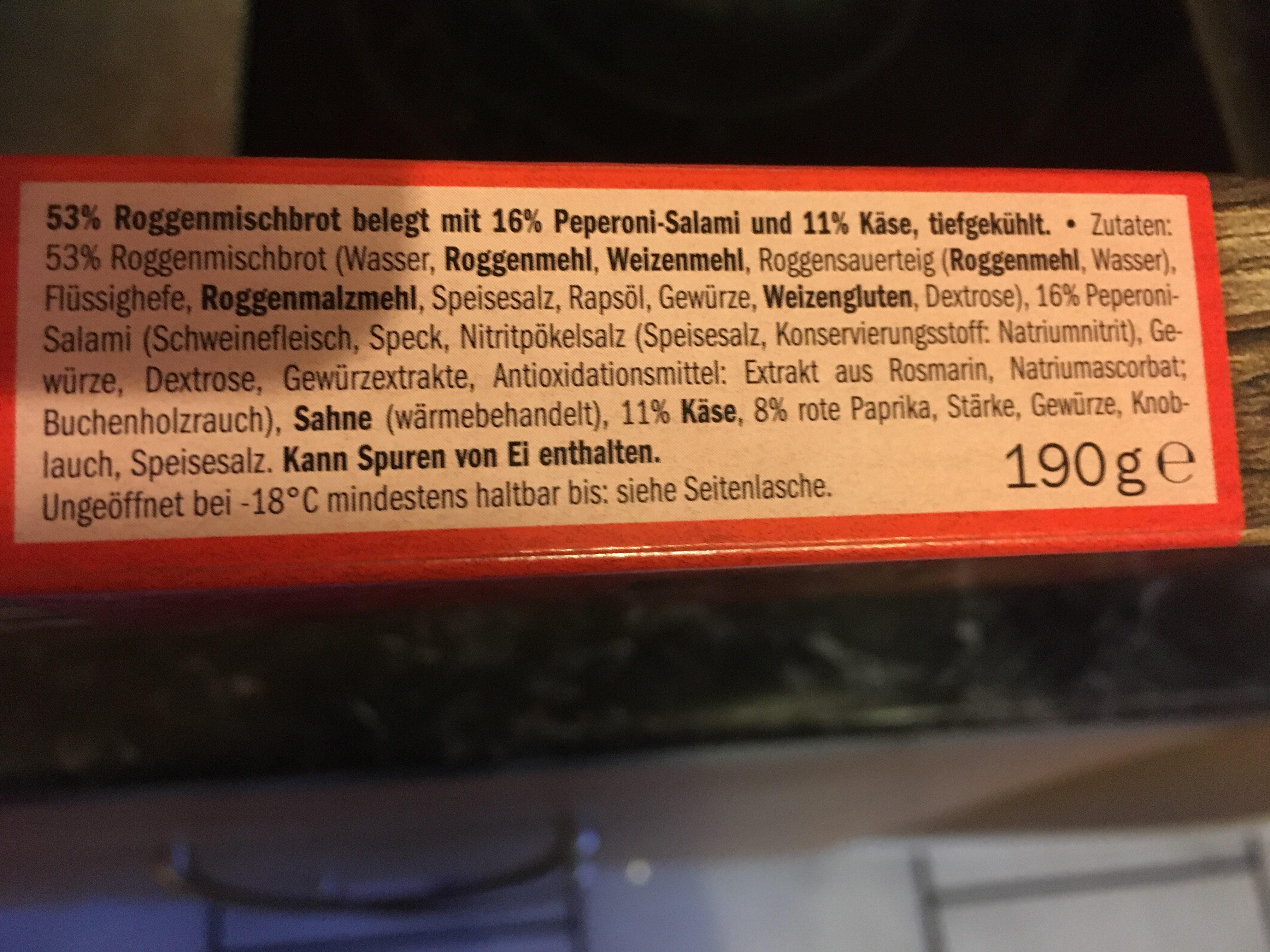 Holzofenbrot - Inhaltsstoffe - de
