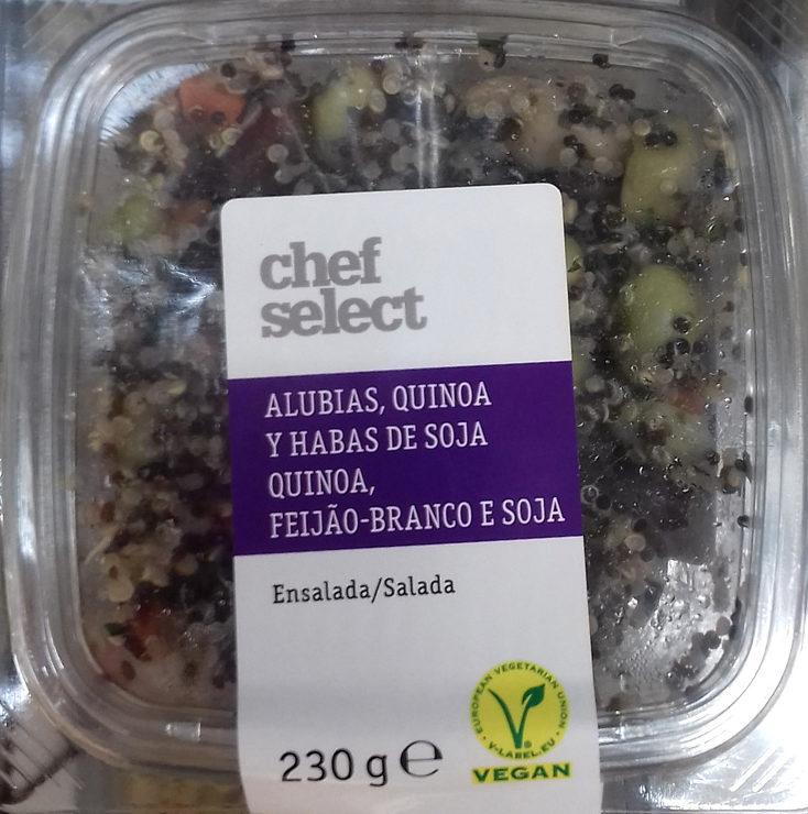 Ensalada alubias, quinoa y habas de soja - Producto - es