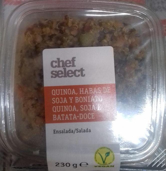 Ensalada quinoa, habas de soja y boniato - Product
