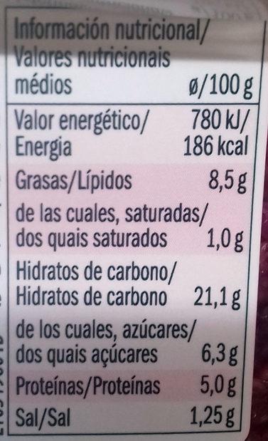 Salade Quinoa, betteraves rouges et haricots noirs - Informació nutricional