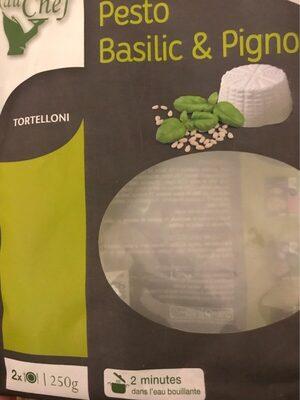 Tortelloni Pesto basilic & Pignons - Product - fr