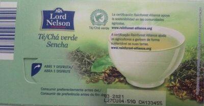 Te Cha verde Sencha