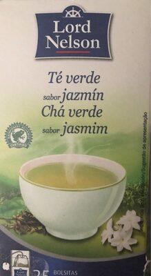 Te verde sabor jazmin