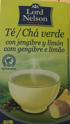 Te verde con jengibre y limon - Produit - es