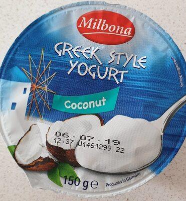 Greek style yogurt coconut - Producto