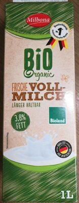 Bio Organic Frische Vollmilch - Produkt - de
