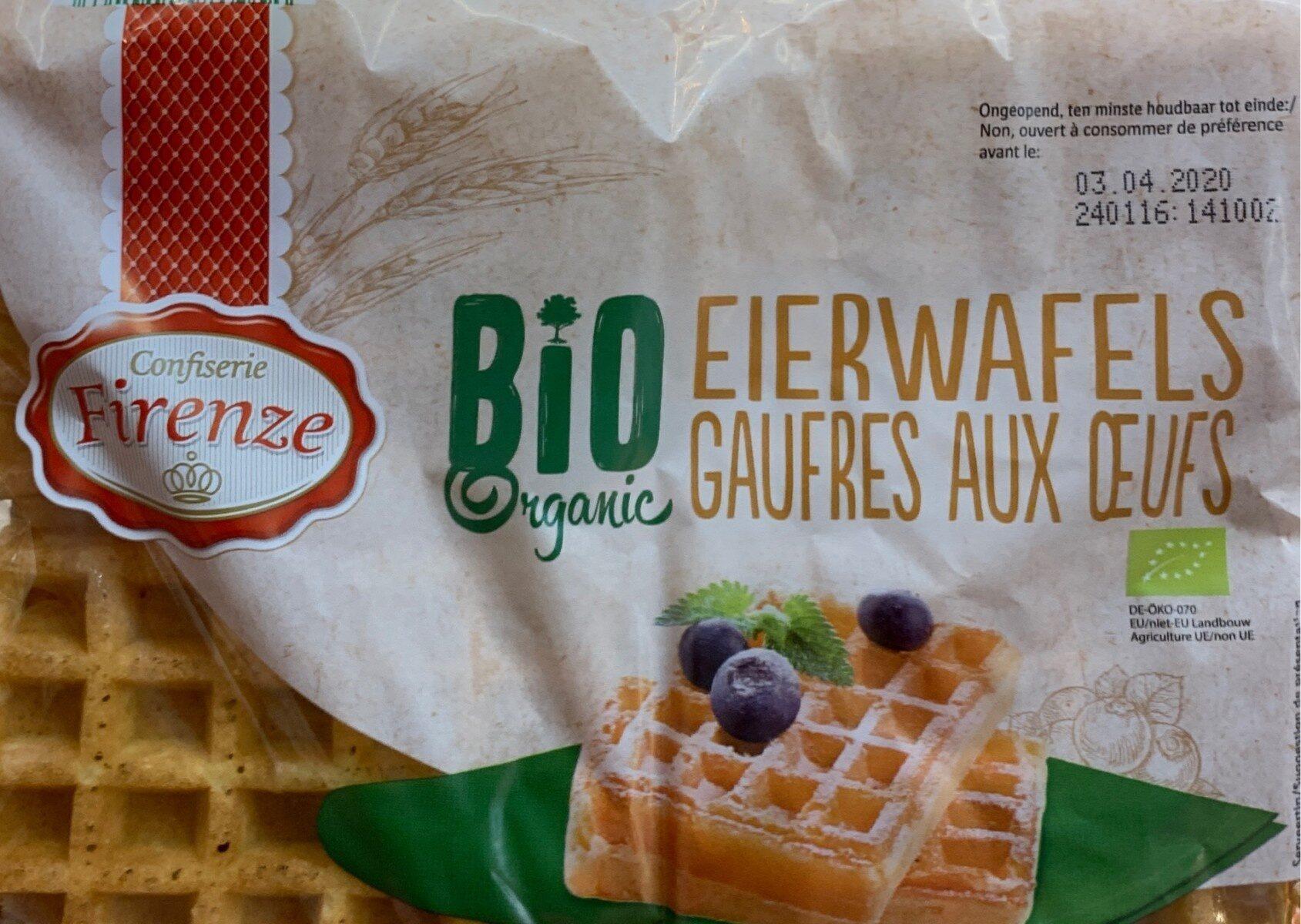 Gaufres aux oeufs bio - Produit - fr