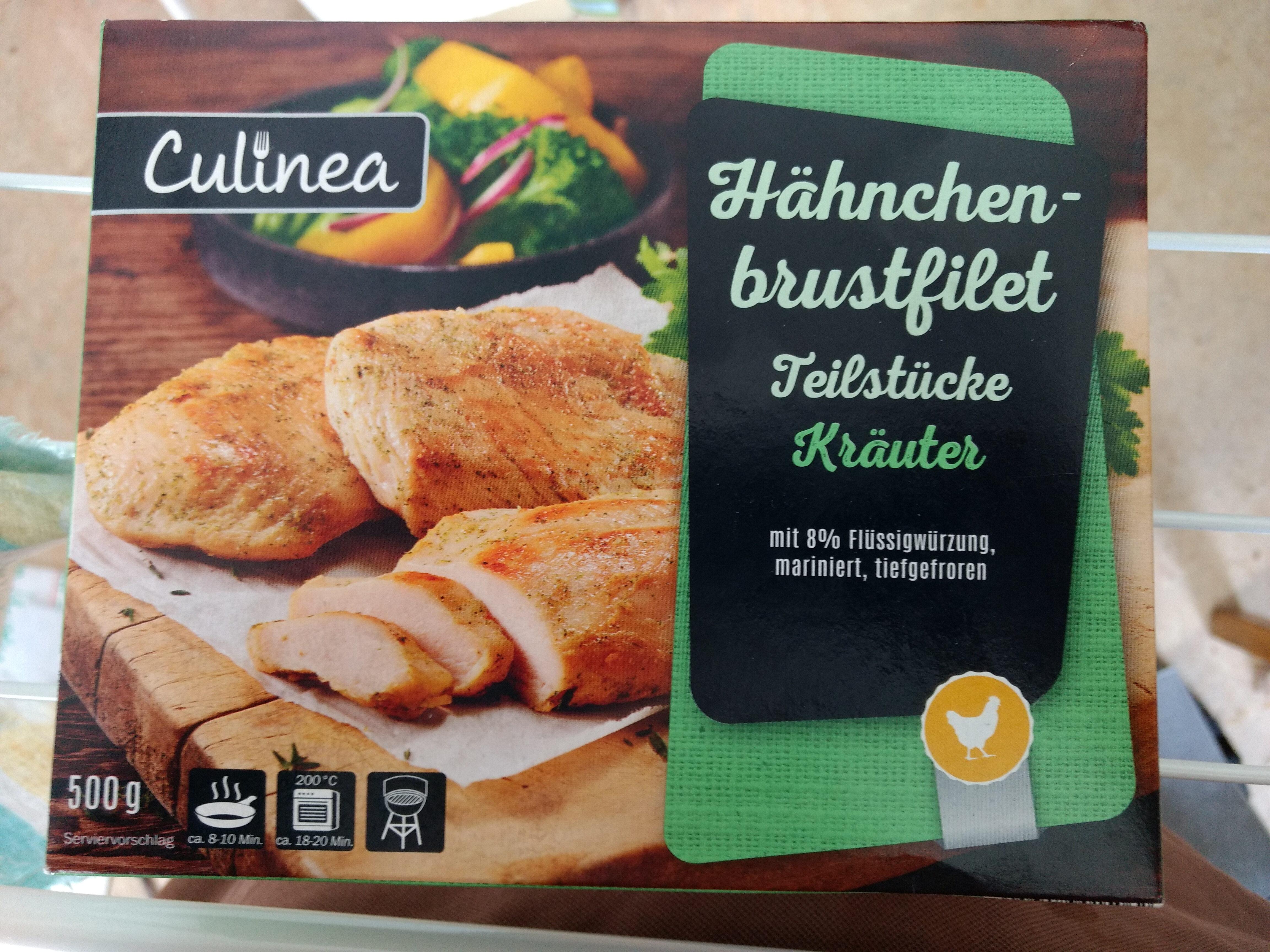 Hähnchenbrustfilet Teilstücke Kräuter - Product