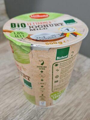Bioland fettarmer Joghurt - Produkt - de