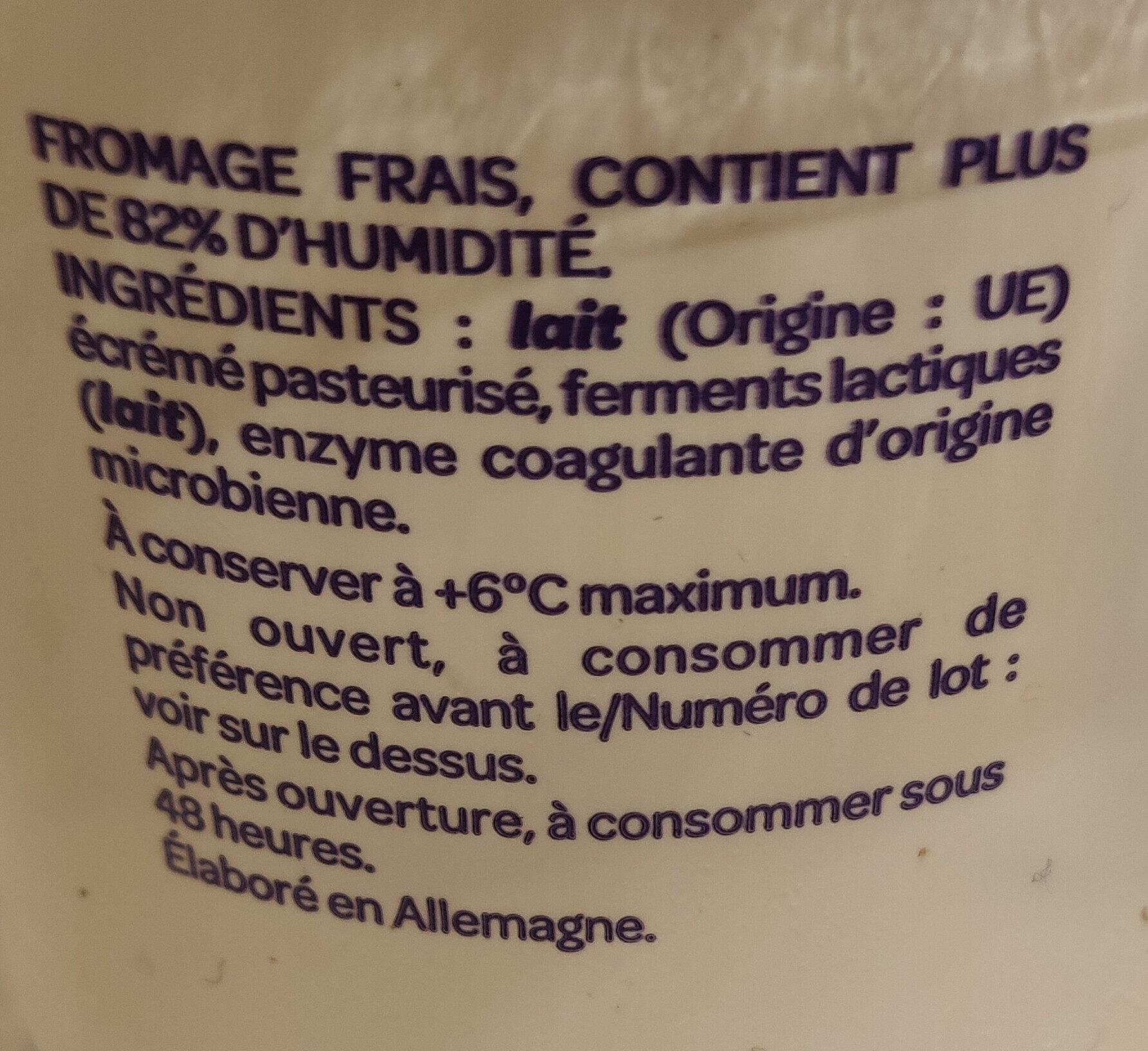 Skyr nature - Ingredients
