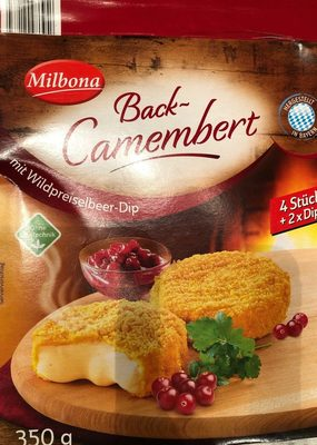 Back-Camembert Wildpreiselbeer - Produit