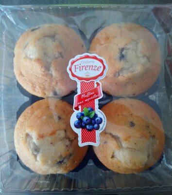 Muffins aux myrtilles - Produit
