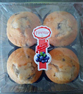 Muffins aux myrtilles - Ingrédients