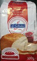 BELBAKE Mélange Pain Blanc - Product
