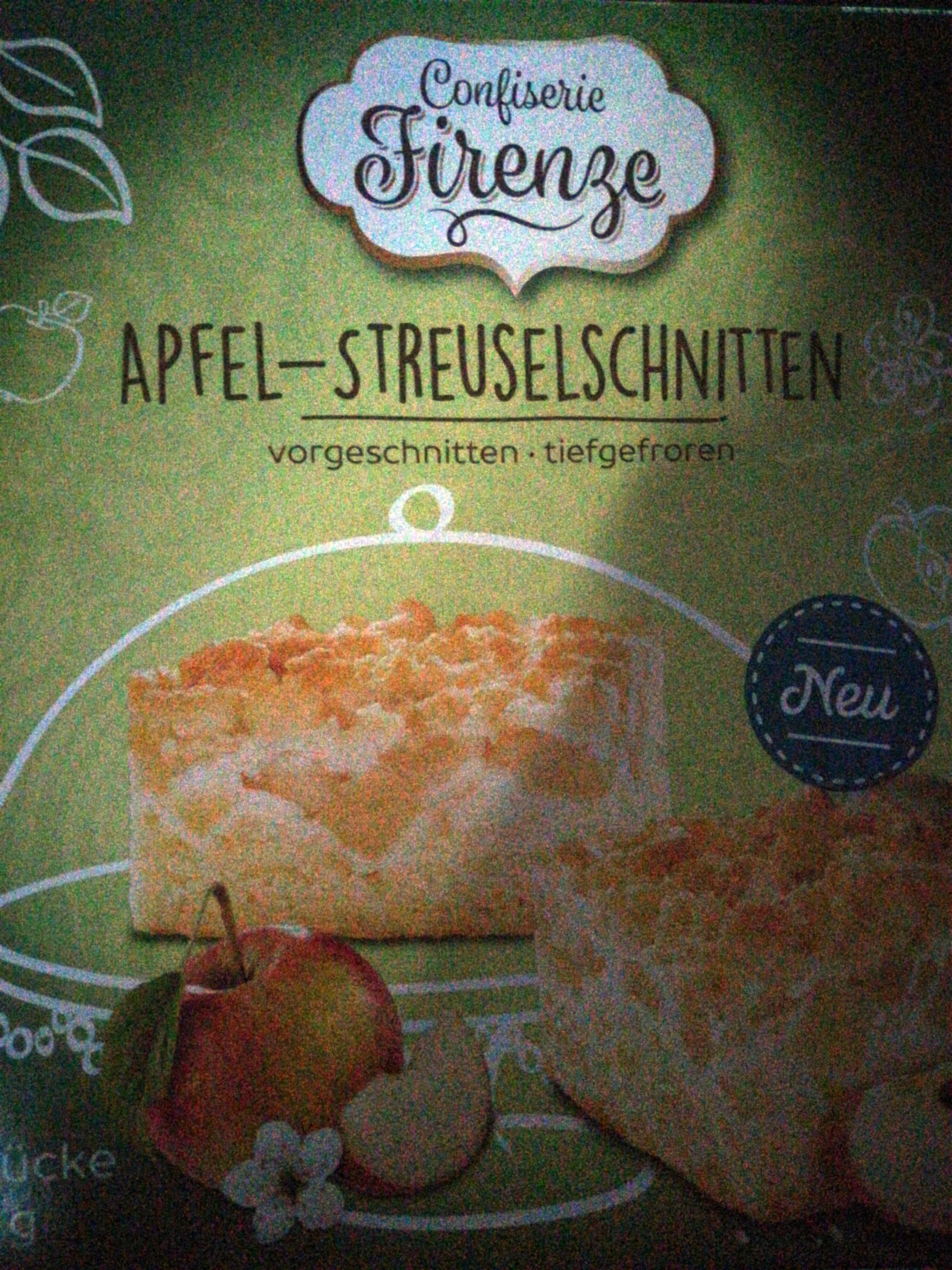 Apfel-Streuselschnitten - Produit - de