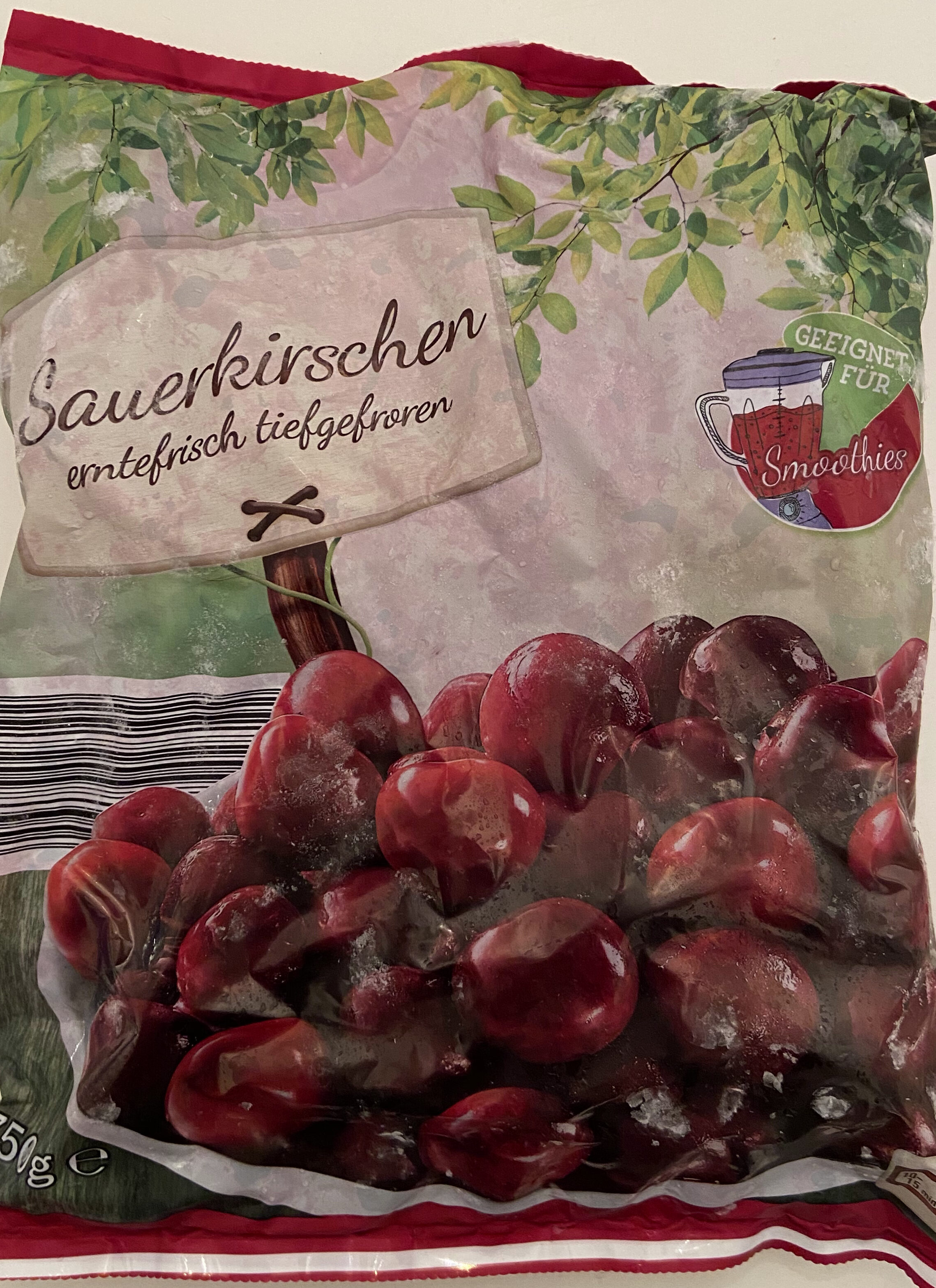 Sauerkirschen erntefrisch tiefgefroren - Product - de