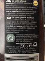 Café clásico descafeinado - Informations nutritionnelles - es