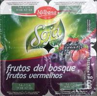 """Postre de soja """"Milbona"""" frutos del bosque - Producto"""