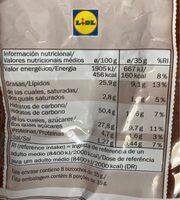 Bizcochos - Informació nutricional - es