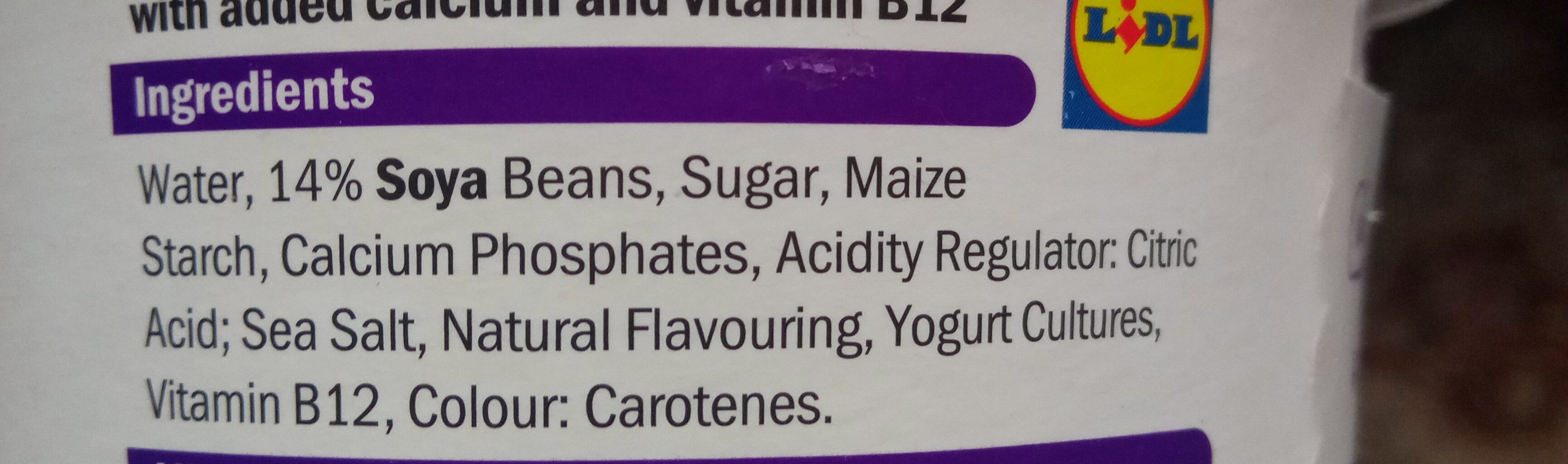 Soya classic - Ingredients - en